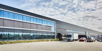 AMS Cargo Center at Schiphol Logistics Park