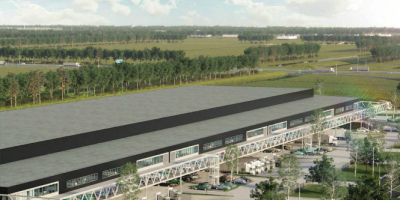 AMS Cargo Center I and II at Schiphol Logistics Park: Space to grow