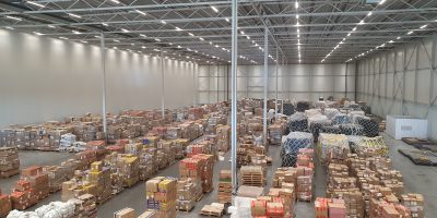 Bonded Services: over 12 million packages per month